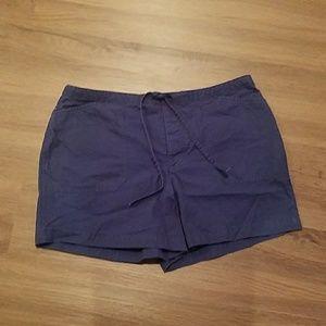 Tommy Hilfiger blue trouser shorts size 12